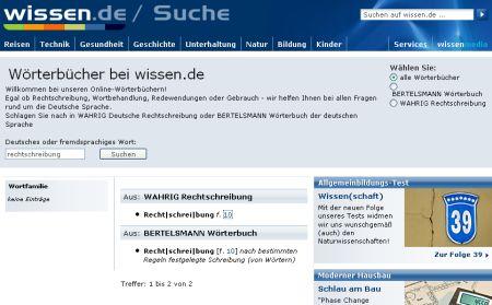 Deutsche Rechtschreibung online