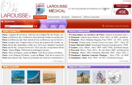 Larousse französische Enzyklopädie online