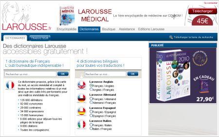 Larousse einsprachiges Onlinewörterbuch Französisch