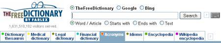Akronym- und Abkürzungswörterbuch online