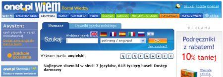 Portal wiedzy - polnisches Wörterbuch online