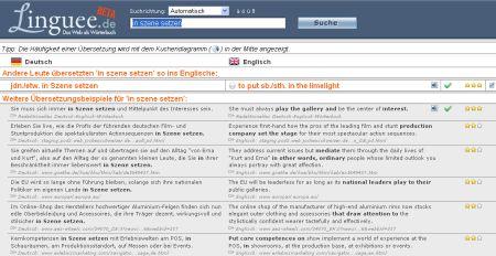 Linguee Paralleltexte Englisch Deutsch